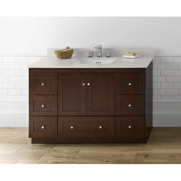 Shaker 48 Single Bathroom Vanity Set by Ronbow
