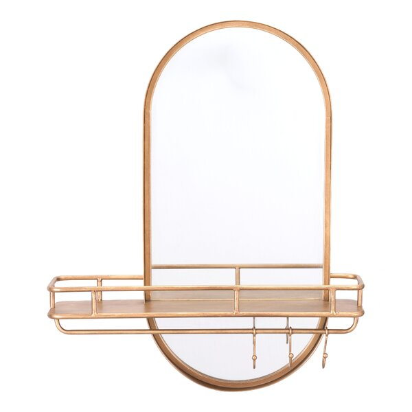 Baxter Dual Wall Mounted Mirror by Mercer41