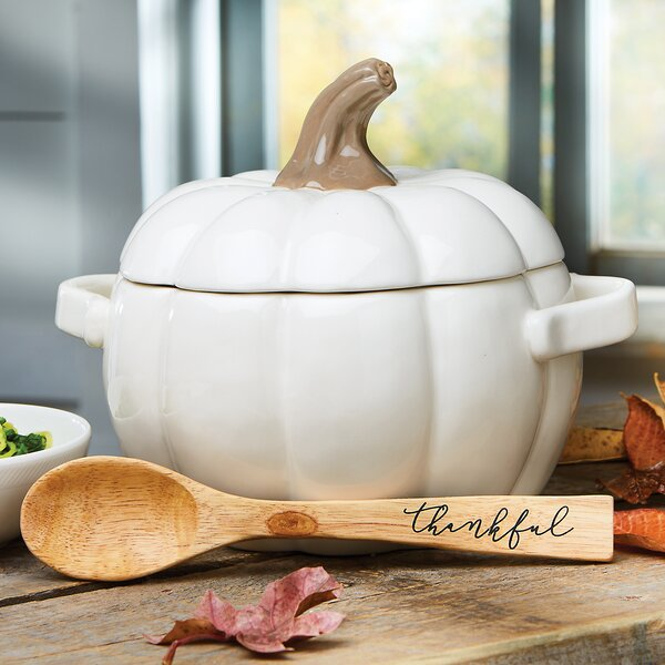 Novelty Pumpkin Covered Casserole by Mud Pie™