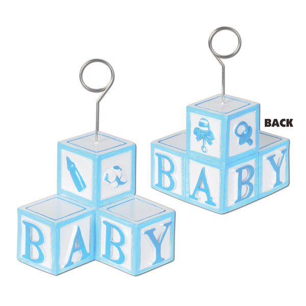 Foskey Baby Blocks Photo Holder Picture Frame (Set of 6) by The Holiday Aisle