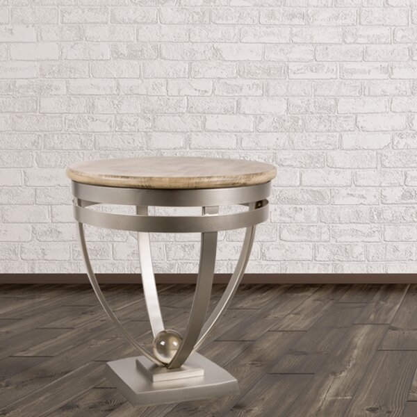 Millbank End Table by Brayden Studio