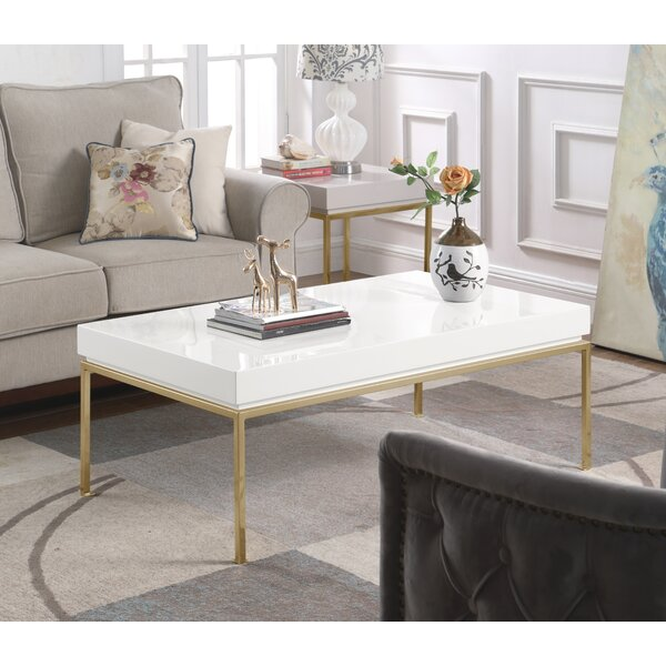 Everly Quinn Wood Top Coffee Tables