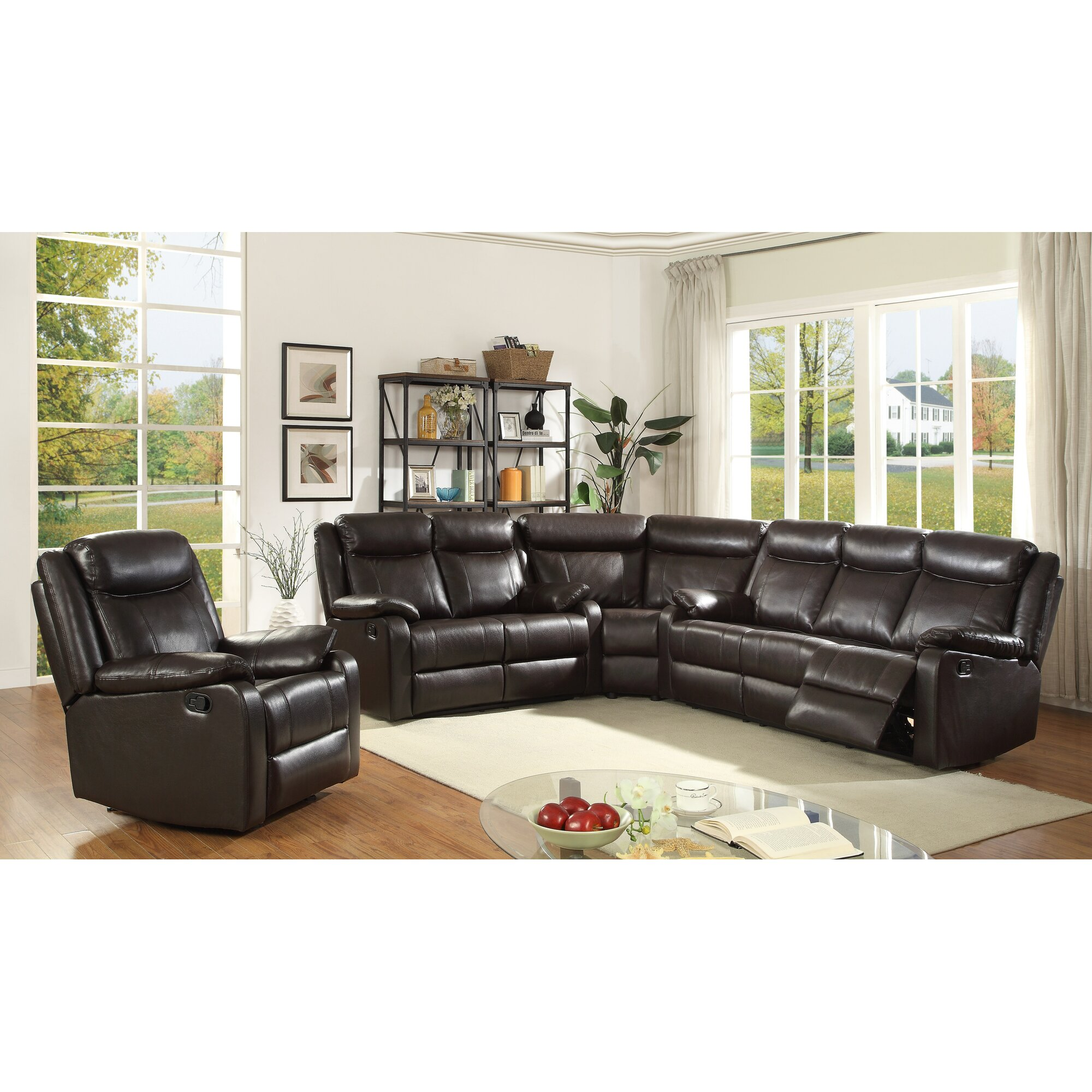leo minor double reclining loveseat