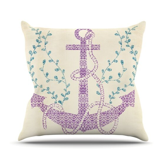 Tribal Nautica II Outdoor Throw Pillow by East Urban Home