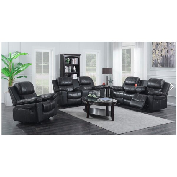Ulmer 3 Piece Living Room Set by Red Barrel Studio