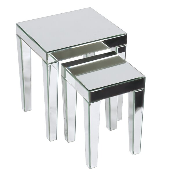 2 Piece Nesting Table Set by Ave Six