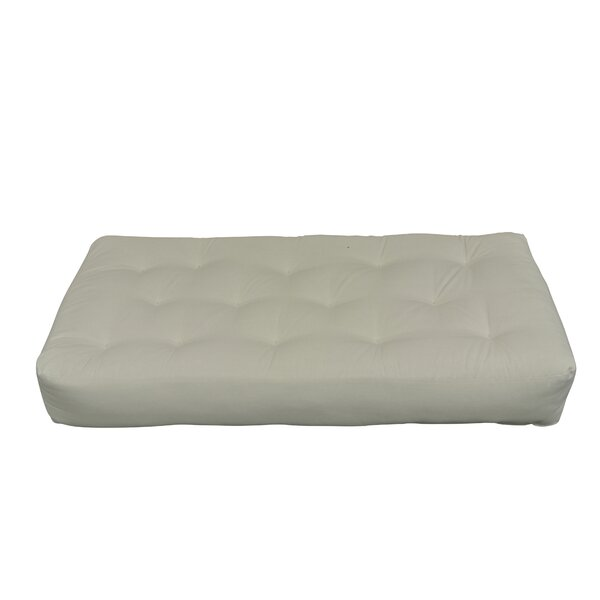 Feather Touch II 9 Cotton Chair Size Futon Mattress by Gold Bond
