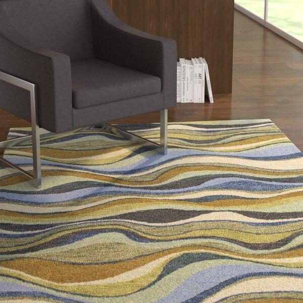 Dodge Blue Alder Area Rug by Ebern Designs
