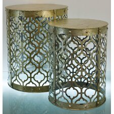 Sloan 2 Piece Nesting Tables by TLC Home