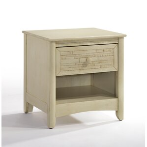 Secrets Cape Cod 1 Drawer Nightstand by Night & Day Furniture