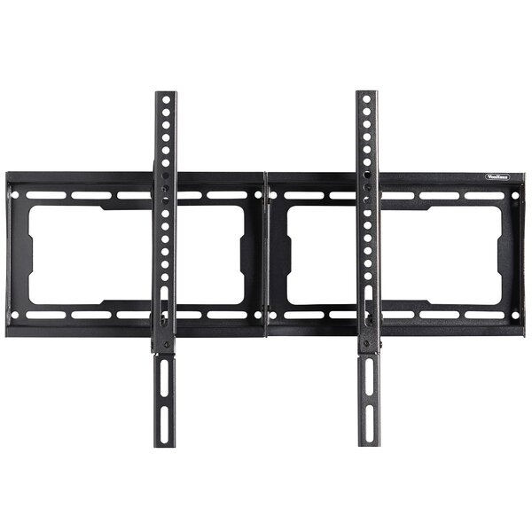 "Premium Super-Strong Slim Tilting Wall Mount for 24-70"" Flat Panel Screens by VonHaus"