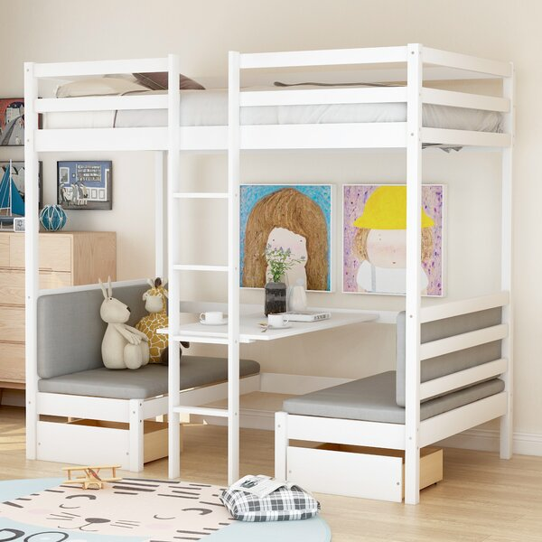 Coles Twin Bunk Configurations Bed with Drawers and Desk by Isabelle & Max