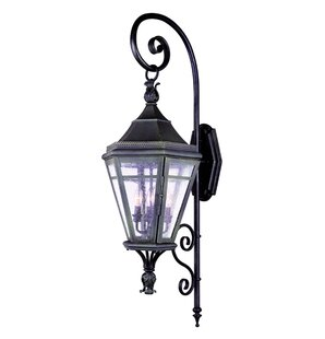 Lorilee 4-Light Outdoor Wall Lantern By Darby Home Co Outdoor Lighting
