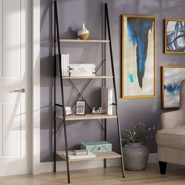 Rech 4 Tier Ladder Bookcase By Wrought Studio