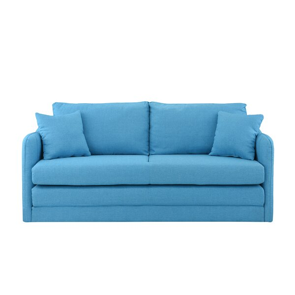 Alverez Convertible Sleeper Loveseat by Wrought Studio