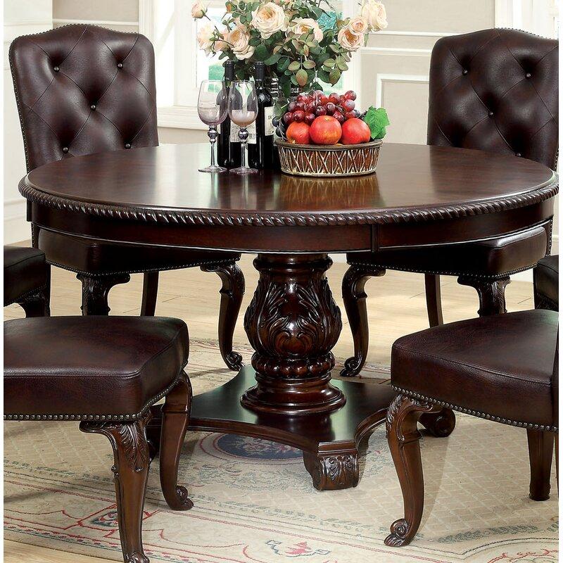 Hokku designs table de salle manger en bois massif - Table de salle a manger en bois massif ...