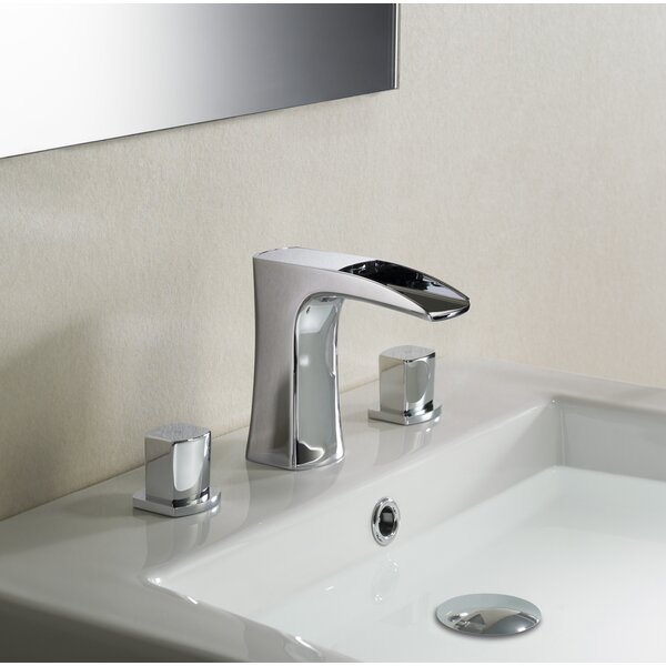 Cascade Stufurhome Widespread Bathroom Faucet with Drain Assembly by dCOR design