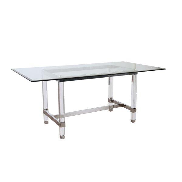 Baughman Solid Wood Dining Table by Orren Ellis Orren Ellis