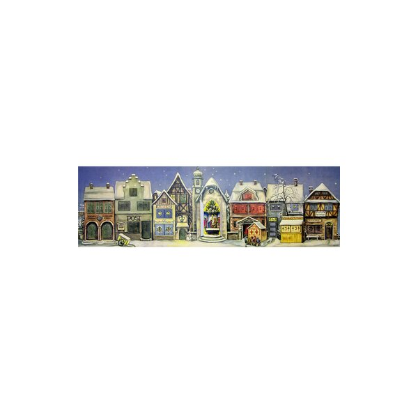Sellmer Card Panorama Advent Calendar by The Holiday Aisle