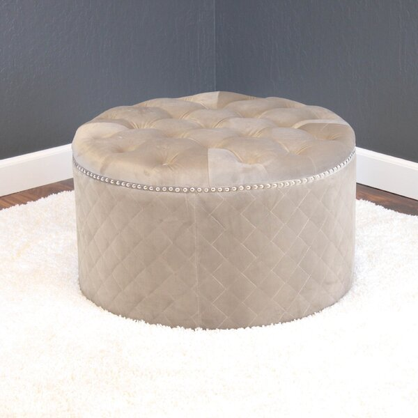 Westbrooks Tufted Ottoman By Willa Arlo Interiors Design