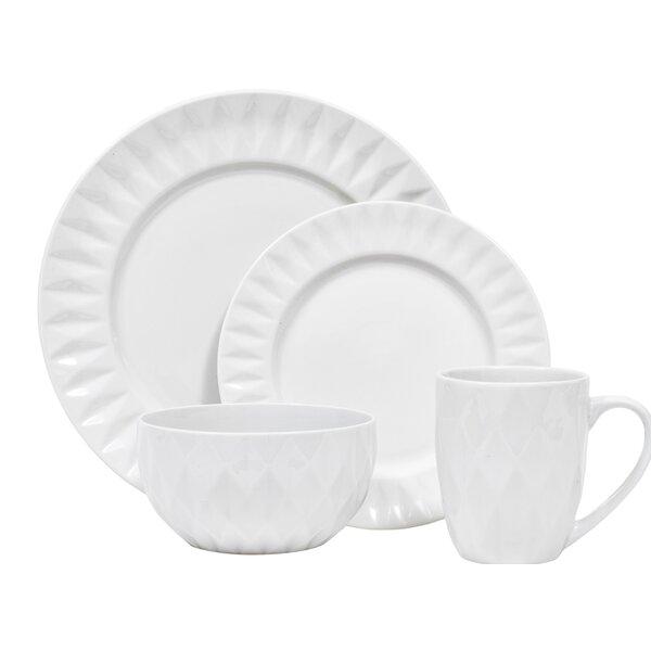 Kingston 16 Piece Dinnerware Set, Service For 4 by Sango