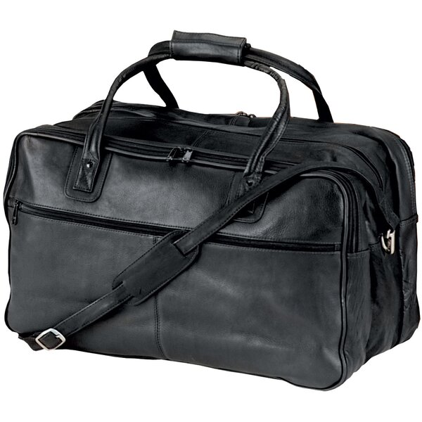 24 Vaqueta Napa Leather Duffel by Andrew Philips