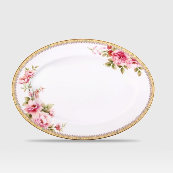 Hertford Oval Platter by Noritake