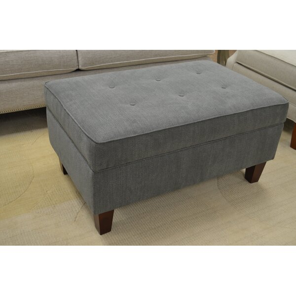 Diver Tufted Storage Ottoman By Craftmaster