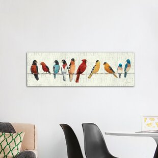 birds flying wall art wayfair