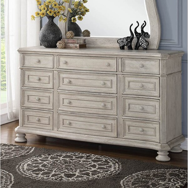 Piland 12 Drawer Dresser by One Allium Way