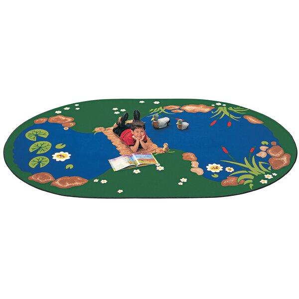 Emerado The Pond Area Rug by Zoomie Kids