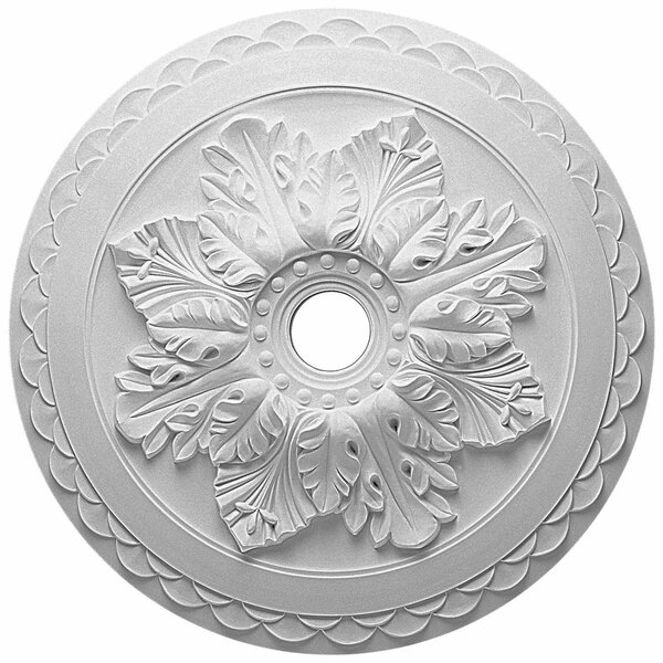 Bordeaux Deluxe 1/9H x 23 5/8W x 2D Ceiling Medallion by Ekena Millwork