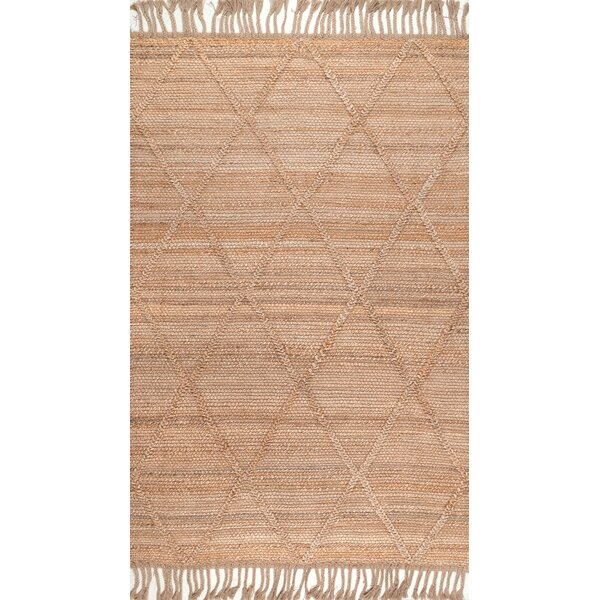 Augustine Hand-Woven Natural Area Rug by Bungalow Rose