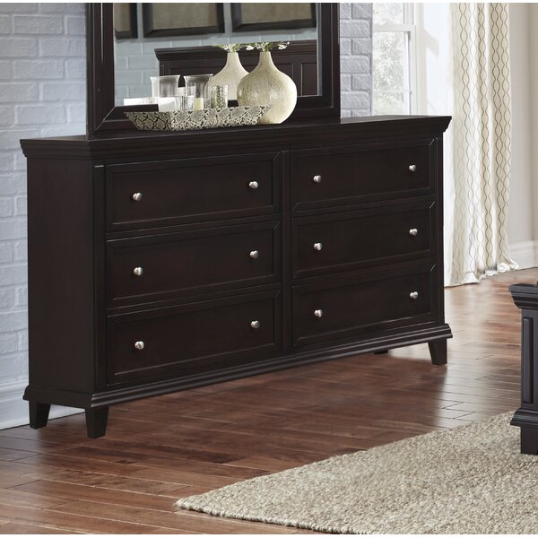 Heidy 6 Drawer Double Dresser by Red Barrel Studio