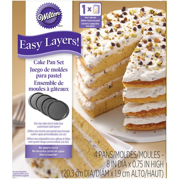 Easy Layers Round Cake Pan by Wilton