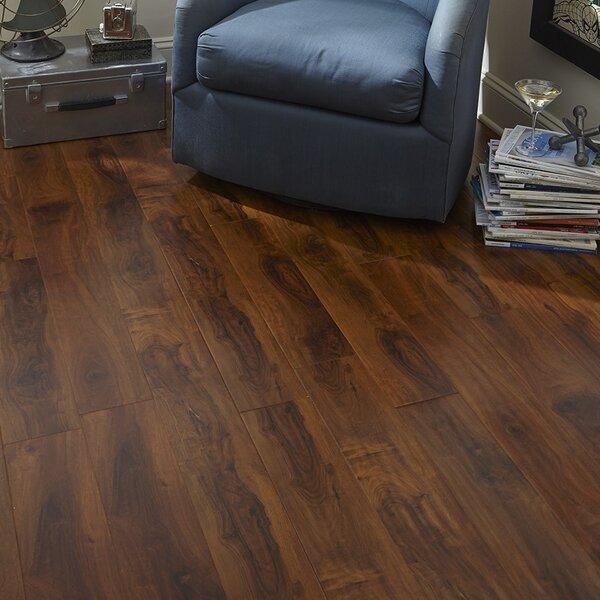 8 x 48 x 12mm Mahogany Laminate Flooring in Embossed by Islander Flooring