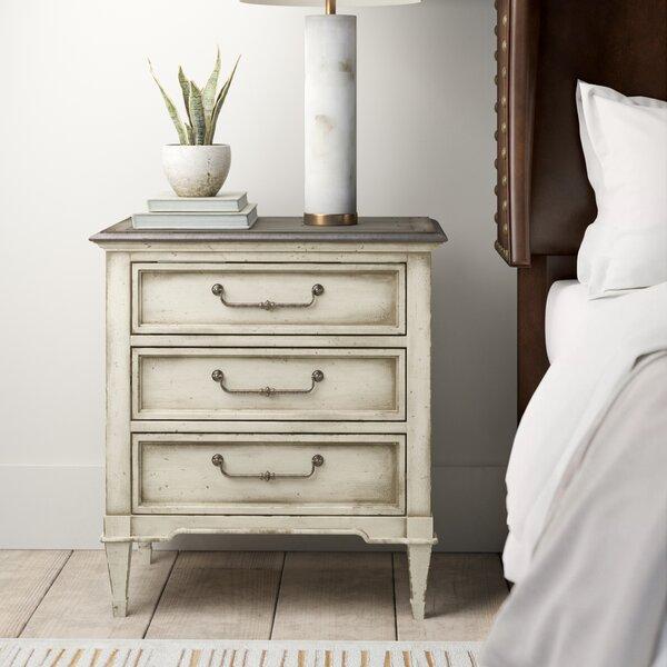 Arabella 3 Drawer Nightstand by Hooker Furniture