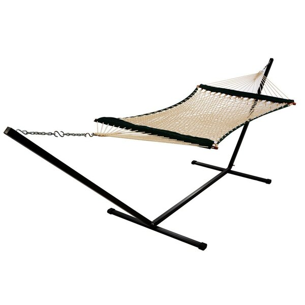 Dana Fabric Rope Hammock with Pad by Freeport Park