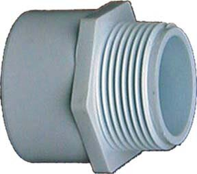1/2 x 3/4 PVC Sch. 40 Reducing Male Adapter (Set of 10) by GenovaProducts