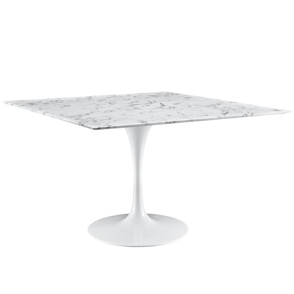 Julien 48 Artificial Marble Dining Table by Langley Street