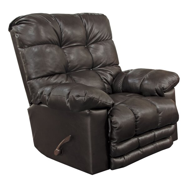 Piazza Leather Recliner By Catnapper