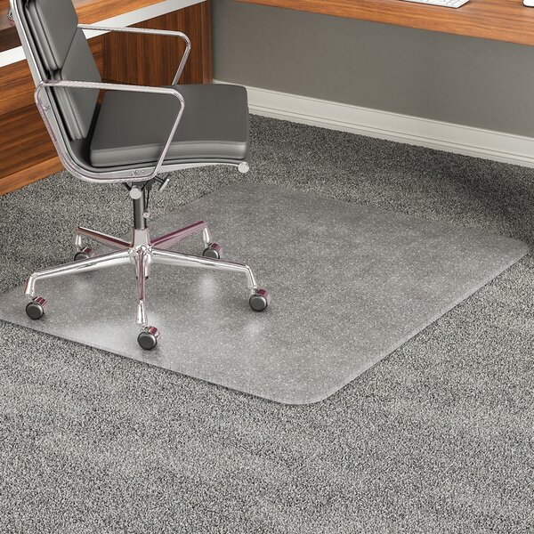 Carpeted Floor Beveled Edge Chair Mat by Deflect-O Corporation