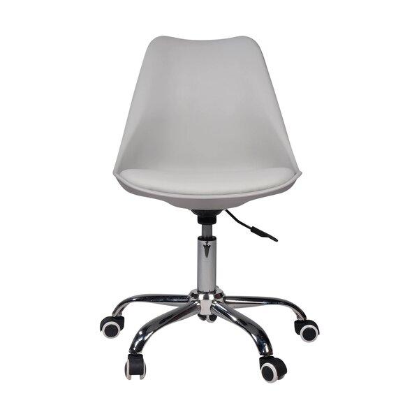 Leather Desk Chair by Joseph Allen