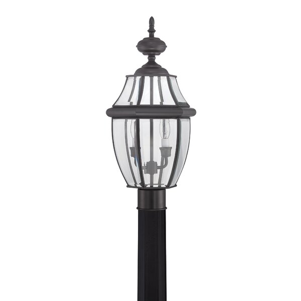 Outdoor 2-Light Lantern Head by Illumina Direct