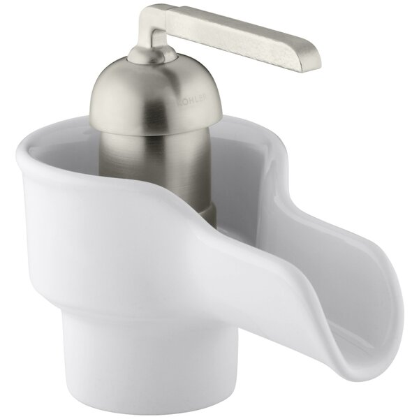 Bol Single-Hole Ceramic Bathroom Sink Faucet by Kohler