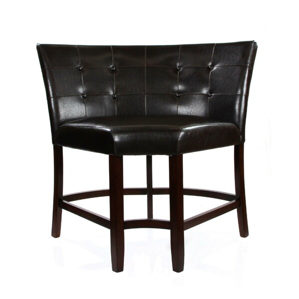 Grenville Faux Leather Upholstered Wood Side Chair by Red Barrel Studio