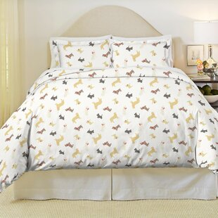 Winter Dogs Duvet Cover Set