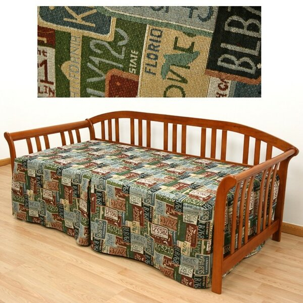 Road Trip Box Cushion Daybed Slipcover by Easy Fit