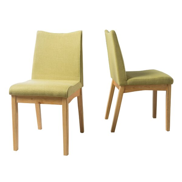 Bailey Upholstered Dining Chair (Set of 2) by Hashtag Home