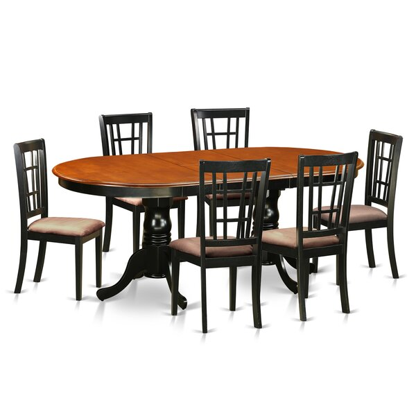 Pilcher 7 Piece Extendable Dining Set by August Grove